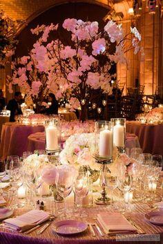 Featured Photographer: Brian Dorsey Studios; Wedding reception centerpiece idea.