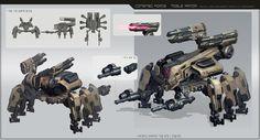 ArtStation - moble armor, CHOI junmyung