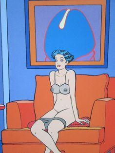 Portfolio Eros, Moebius, disponible sur entre-image!