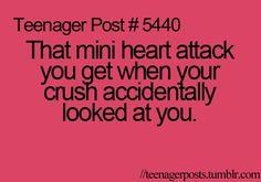 Crush crush crush crush stories, my crush, when your crush, relatable teenager posts Teenager Posts Crushes, Teenager Quotes, Teen Quotes, Quotes Quotes, Lol So True, Crush Humor, Crush Memes, Crush Crush, Crush Quotes Funny
