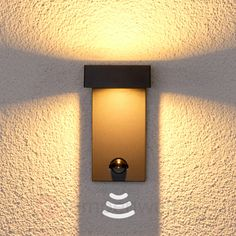 Sensor-Wandleuchte Toska für draußen, mit LEDs 9647064 Led, Sconces, Wall Lights, Lighting, Home Decor, Light Fixtures, Chandeliers, Appliques, Decoration Home