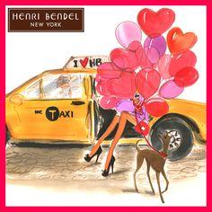 #Henri Bandel #Valentines Day by #Izak