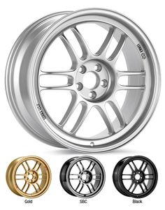 Enkei Wheels - Racing Series Wheels - RPF1 - All Time Favorite.