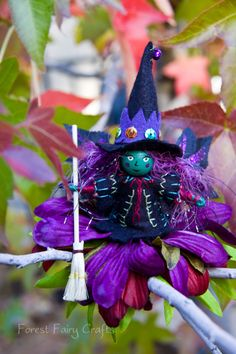 Fancy Fairy Witch | Forest Fairy Crafts
