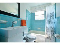 Idea for blue bathroom update