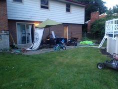 The back patio #PinMyDreamBackyard