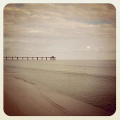 my dream is to live on the beach next to a peir!