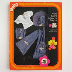 Daisy PEACHY #65404 BOXED OUTFIT | Vintage Mary Quant Daisy Doll | Mint in Box | eBay