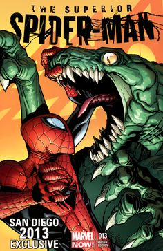 Spider-Man vs Killer Croc by Humberto Ramos - visit to grab an unforgettable… Marvel Avengers, Marvel Comics, Ms Marvel, Bd Comics, Marvel Heroes, Captain Marvel, Comic Book Artists, Comic Book Characters, Marvel Characters