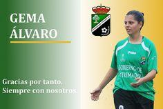Gema Álvaro deja el Extremadura. Siempre tendrás las puertas del club para lo que necesites. Abrazo.