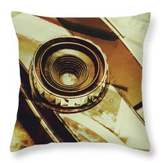 Photography Studio Throw Pillow featuring the photograph Artistic Double Exposure Of A Vintage Photo Tour by Jorgo Photography - Wall Art Gallery