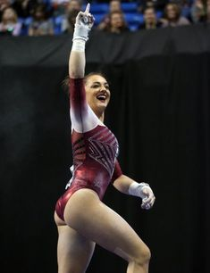 2018 NCAA Gymnastics All-round Champion, Maggie Nichols! A legendary hero for … - Leotards Gymnastics Images, Gymnastics Gym, Artistic Gymnastics, Olympic Gymnastics, Gymnastics Leotards, Ballet Leotards For Girls, Dance Leotards, Kids Leotards, Maggie Nichols