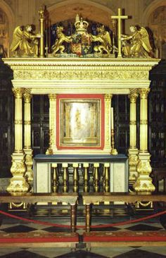 RESTING PLACE OF EDWARD VI - 12 OCT 1537 - 6 JULY 1553. THE ONLY MALE HEIR OF HENRY VIII. EDWARD'S MOTHER IS QUEEN JANE SEYMOUR. - WESTMINSTER ABBEY.