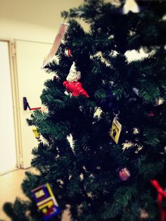 JWT Christmas decorations