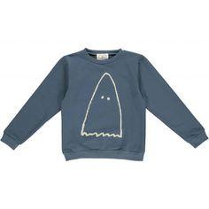 "Gro Ghost Sweat-Pullover ""Mads"", deep ocean"