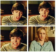 Bates Motel- That awkward moment when the crazy person doesn't know he's crazy.