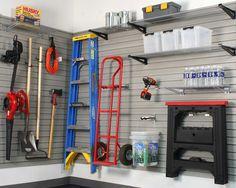 garage slat wall