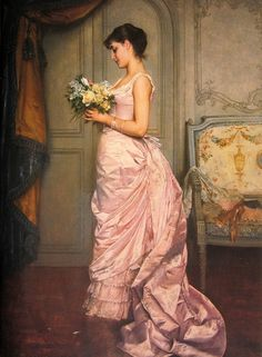 """""""Le Billet"""" (The Note), 1883 - Auguste Toulmouche"""