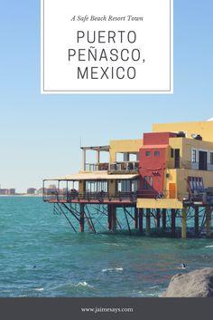 Looking for a safe beach resort town in #Mexico?  Try #puertopeñasco #rockypoint #Arizonasbeach