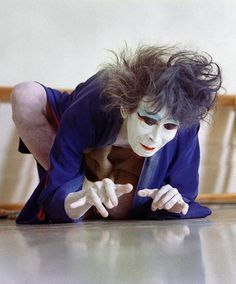 Kazuo Ōno, 大野 一雄 (October 27, 1906 – June 1, 2010) was one of the founders of the Butoh dance movement. A type of Japanese performance where images and ideas are translated into rich movements and gestures. Japan. S)