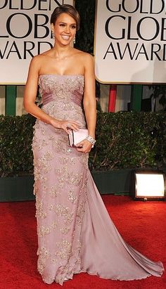 Jessica Alba, Gucci, 2012 Golden Globe Awards