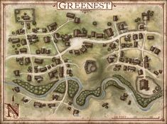 The Nentir Vale towns - Google Search