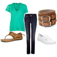 Casual, created by kennamg on Polyvore
