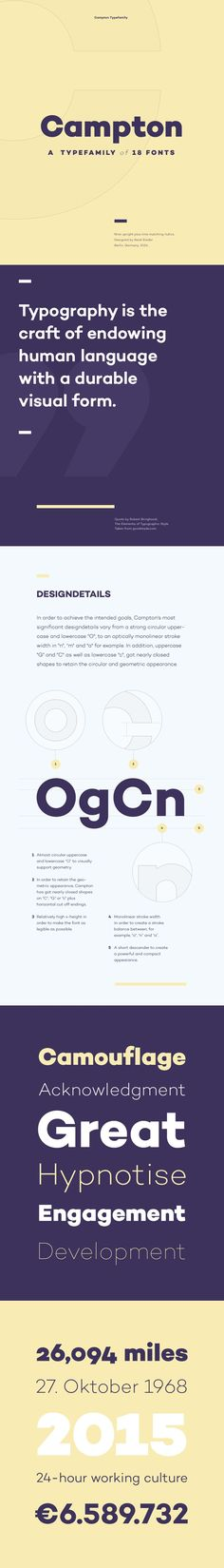 Campton free font Campton is a simple sans serif with a geometric skeleton, based on the mid to early twentieth century visual trend of achieving n...