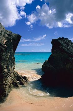 Bermuda, my sister and I spent a week here this summer. The most beautiful beaches I have ever seen.