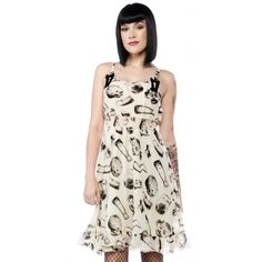 SOURPUSS DOLL PARTS DRESS