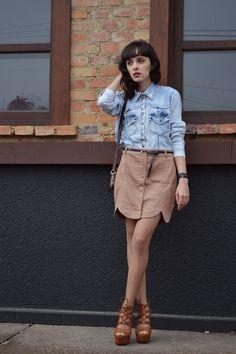 Look: Blue Jeans - Blog Ela Inspira - http://www.elainspira.com.br/look-blue-jeans/