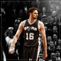 Pau Gasol is now a San Antonio Spur.