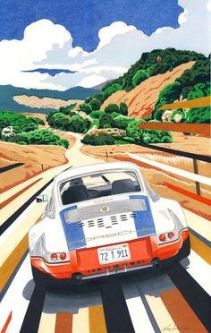 Tim Layzell, featuring Magnus Walker's '72 Porsche 911: