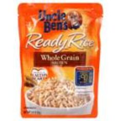 I'm learning all about Uncle Ben's Ready Rice Natural Whole Grain Brown at @Influenster!
