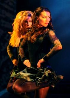 This is the best Riverdance costume, in my opinion