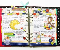 Carpe Diem Planner as a Memory Planner featuring the Bloom & Grow Collection by design team member Brenda Smith