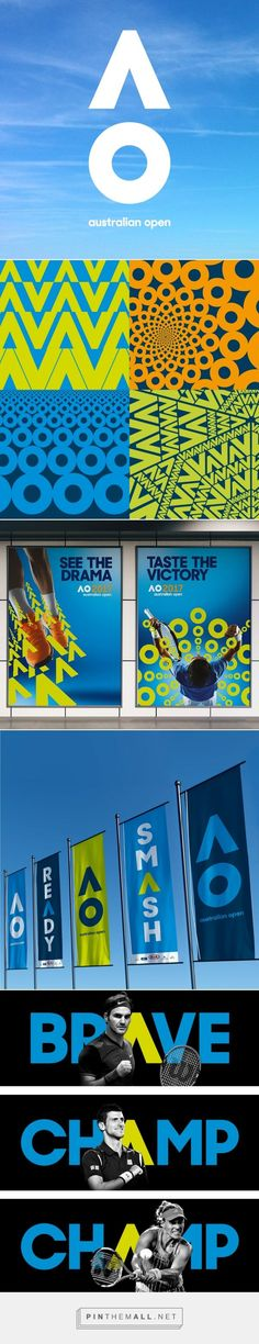 Brand New: New Logo and Identity for Australian Open by Landor Australia... - a grouped images picture - Pin Them All. If you're a user experience professional, listen to The UX Blog Podcast on iTunes.