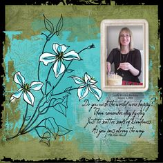 Scattered Kindness by Linda Holden. Muliple kits by multiple designers for the Recipe Challenge
