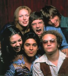 that 70's show, back when the number of males and females didnt have to b equal, even if fez is a little gay