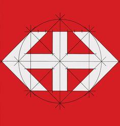 Hans Hartmann _ Logo design for SBB Swiss railways (1972)