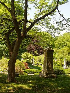 Mount Auburn Cemetery - home of Phillips Brooks, McGeorge Bundy, Mary Baker Eddy. Isabella Stewart Gardner, Henry Wadsworth Longfellow, Abraham Maslow, B. F. Skinner, Henry Cabot Lodge and Bernard Malamud among others