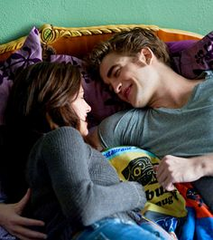 his smile :) - bella & edward