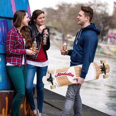 Der extra Kick für den perfekten Kickflip! #almdudler #lassunsdudeln #skateboard #monday #monnay #skate #newweek #sk8erboi
