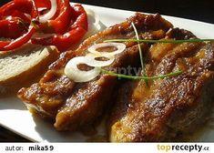 Pikantní bůček na hořčici recept - TopRecepty.cz No Salt Recipes, Pork Recipes, Czech Recipes, Pork Belly, Food 52, Bucky, Stew, Food And Drink, Menu