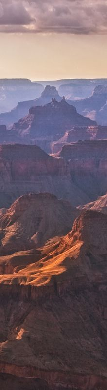 """Dan Sorensen - Photographer  """"This photograph of the Grand Canyon was purely accidental. My best friend and I decided to make a day trip up to the Canyon to do some photography and get out of the heat. Anyway, this was shot just as the sun was behind some clouds and an incredible purple cast painted the canyon for me."""""""