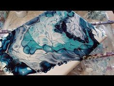 acrylic pour,fluid painting,dirty pouring,(88) - YouTube
