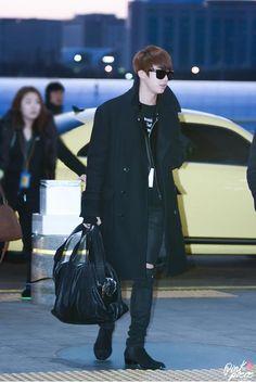 BTS @ 141206 Incheon Airport otw to Philippines
