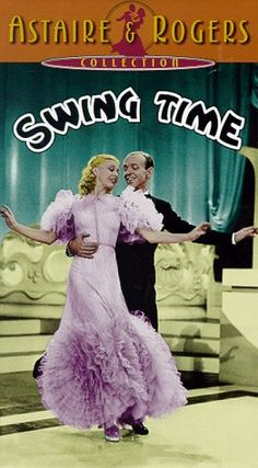 Amazon.com: Swing Time [VHS]: Fred Astaire, Ginger Rogers, Victor Moore, Helen Broderick, Eric Blore, Betty Furness, Georges Metaxa, Harry Bernard, Harry Bowen, Bill Brande, Ralph Brooks, Ralph Byrd, George Stevens, Allan Scott, Anthony Veiller, Ben Holmes, Dorothy Yost, Erwin S. Gelsey, Howard Lindsay, Rian James: Movies & TV