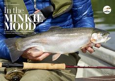Airflo rods featuring in this months Trout Fisherman Magazine - How to catch fish in Fry Patterns.
