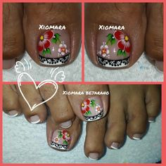 Cute Toenail Designs, Toe Nail Designs, Toe Nails, Hair Beauty, Pretty Pedicures, Decorations, Pretty Toe Nails, Simple Toe Nails, Simple Elegant Nails